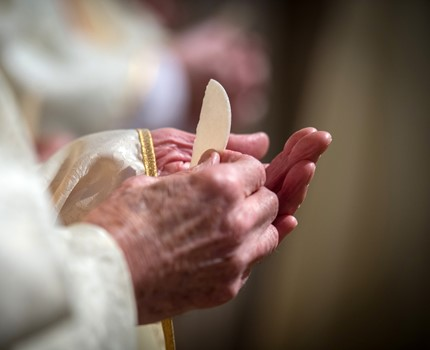 Receiving Holy Communion – Act of Spiritual Communion